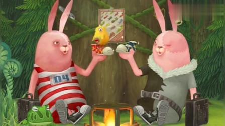 兔:基里连科兔与兄弟太像了,动作和爱好都一致