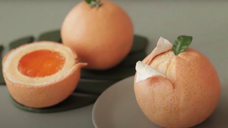 橘子蛋糕家常做法,干净卫生,无添加剂,健康又美味,制作简单