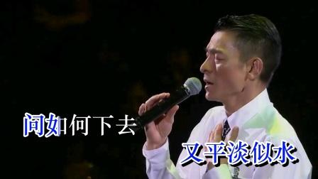 刘德华 - (2010 Unforgettable  Concert中国巡迴现场演唱会~最爱是谁)超清KTV版