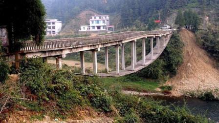 """湖南一座悬空的奇桥,设计者原初中文化,设计""""一石二鸟""""太巧妙"""
