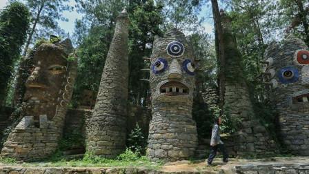 贵州老人隐居山谷20年,负债百万建成奇幻城堡,如今成为A级景点!