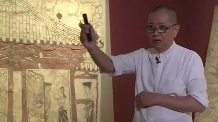 北朝壁画推动中国建筑历史,陈丹青点赞如此大气的壁画 局部 20200519