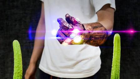 牛人脑洞大开,用3D打印笔制作灭霸手套,网友:现实版的神笔马良