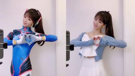 JK制服的魅力!小姐姐换装卡点视频,真的是小仙女啊!