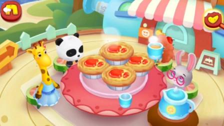 【佑宝】草莓蛋挞好好吃哟!!宝宝巴士游戏