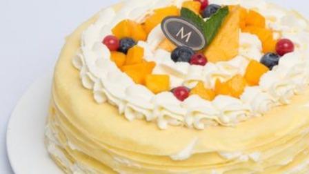 自制:榴莲千层蛋糕,认真学,比蛋糕店卖的还要好吃