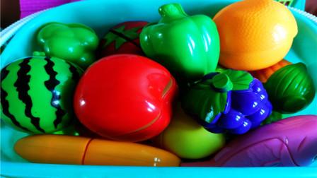 儿童早教认知水果蔬菜 亲子互动启蒙教育