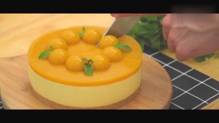 免烤芒果芝士蛋糕-无蛋配方,想做的快来围观,教你在家轻松做