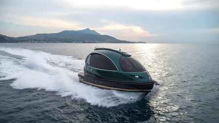 """世界最小的""""胶囊""""游艇,仅8米长可乘12人,起步价177万"""