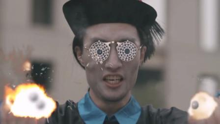 外国丧尸戴上安全帽入侵,中国僵尸拿出加特林,对着它们一通猛扫