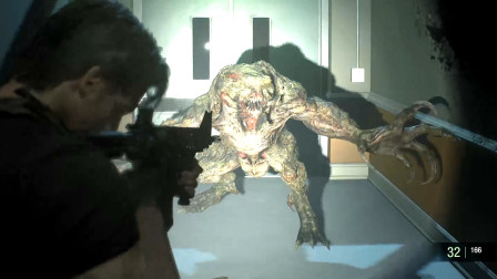生化危机3重制版 吓人的猎杀者Hunter