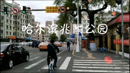 哈尔滨兆麟公园,一个老公园,以前的冰灯游园会就在这里。