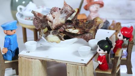 迷你厨房:胡椒烤羊肉,一道美味的晚餐
