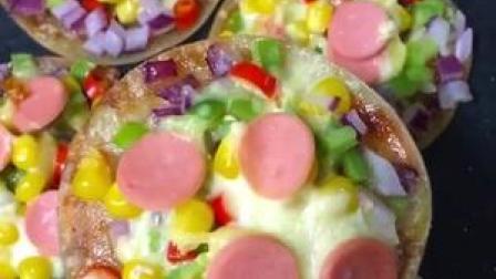 家庭版迷你小披萨