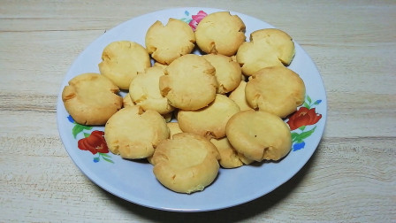 玛格丽特饼干做法原来这么简单,一看就会,奶香浓郁,宝宝特爱吃#优酷吃货节##厨艺大赏#