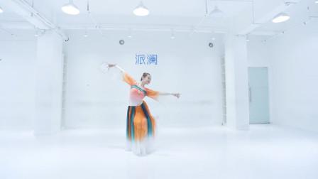 翻跳上海歌剧舞剧院经典古典舞作品浔阳遗韵,缓中有快,快而不急