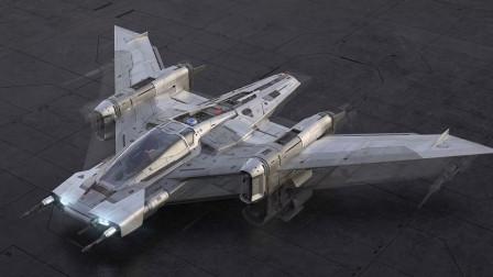 保时捷跨界制作的星际战舰模型,造型炫酷,完美还原星战电影场景