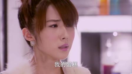 爱的蜜方:美女给李易峰送蛋糕,没想到被撞到,蛋糕坏了美女气哭了!