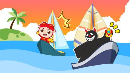 猪猪侠交通大百科追捕塔塔比,小知识船帆有什么作用?
