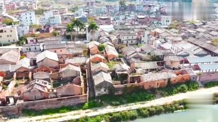 """广东丰顺建桥围,是梅州地区唯一的""""三朝""""古城,保存完好!好壮观"""