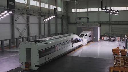 高铁碰撞测试你见过吗中国两辆高铁76公里时速相撞过程太刺激