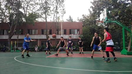 5月10日半场4V4篮球赛|实战上脚Jordan Why Not Zer0.3威少三代|森哥状态不好Day到底打了多少铁?