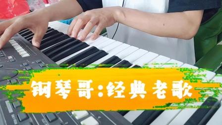 电子琴经典老歌吕方《朋友别哭》