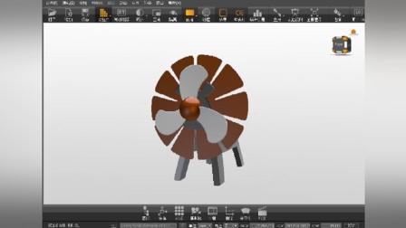 alias设计/创意风扇——海耀设计学员作品