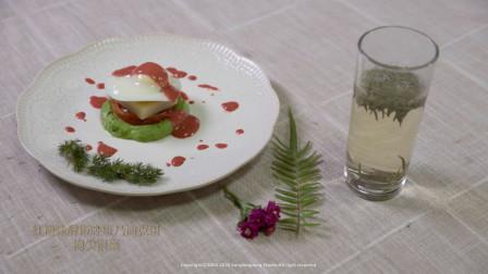 企业文化系列之《南口翎芳宴》招牌菜·红糟味酵粄卧班乃迪克蛋