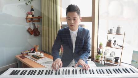 五指音乐钢琴教学教程 七个柚子钢琴演奏 王菲、李健《传奇》