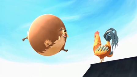脑洞幽默动画,农场里的奶牛居然都会飞,这到底是啥原理?