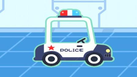 多多变身小警察开着警车去救援伙伴遇到障碍怎么办?
