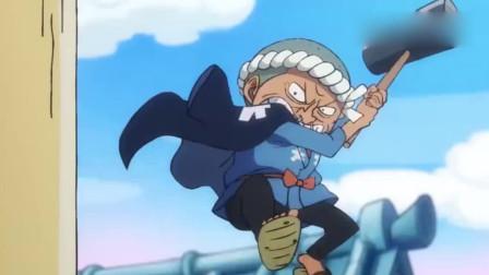航海王:终于把索隆盼来了!化身和之国的一名浪人,发型帅了!