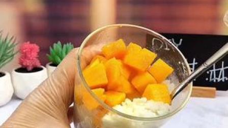 做法简单又好吃的芒果冰淇淋,要不要试试#夏日炎炎有你真甜