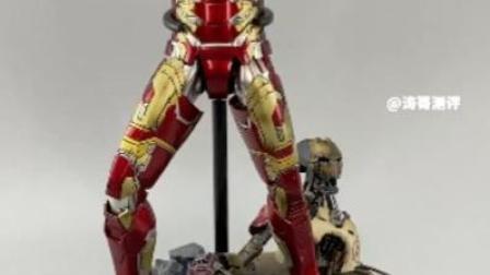 Hot Toys合金压铸钢铁侠MK43再版开箱