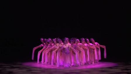 刘福洋导演舞剧,三分半钟那里水袖层层展开,好像初绽的花瓣!
