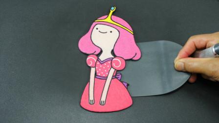 """牛人把煎饼摊成了迪士尼的""""公主"""",好吃又有趣,你认识她吗?"""