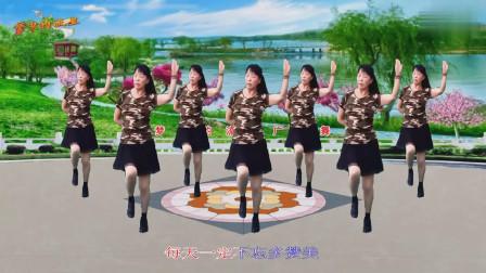 梦中的流星广场舞《把最好的时光献给主》 原创32 步赞美诗歌音乐舞蹈   编舞:凤梅  舞蹈:菊香