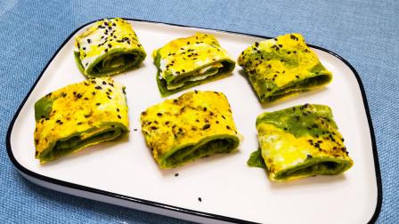 菠菜别再炒了加1个鸡蛋,做出的菠菜鸡蛋饼,营养丰富,做法简单