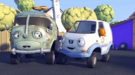 小汽车欧力遇到了警车追逐怎么办?
