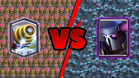 部落冲突皇室战争:电磁炮 vs 皮卡超人