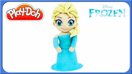 怪怪玩具屋看史莱姆黏土艾莎公主小伶玩具里藏什么