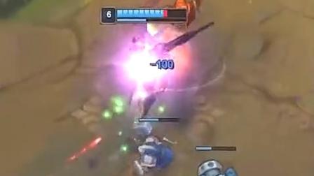 英雄联盟 上单剑姬VS 青钢影 打野不来全靠技术
