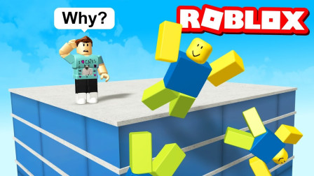 Roblox虚拟世界小飞象解说 第一季 Roblox布娃娃  踹他一脚疯狂木偶人挑战机关!