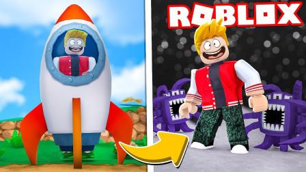 小格解说 Roblox 太空飞船大亨:建设炫酷挖矿飞船!变身太空旅客?乐高小游戏