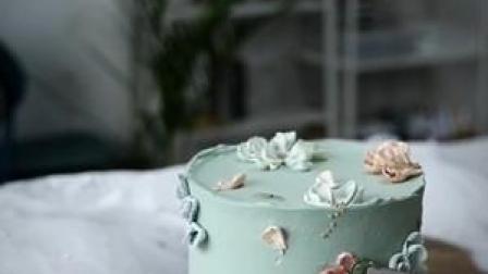 简约裱花蛋糕制作分享#裱花蛋糕 #韩式裱花 #秀出不凡