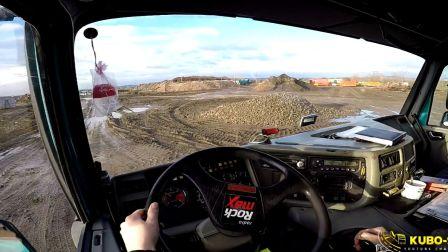 第一视角驾驶越野之王-太拖拉6X6自卸车