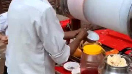 印度街头最干净的小吃,第一次去尝试,居然没有拉肚子!