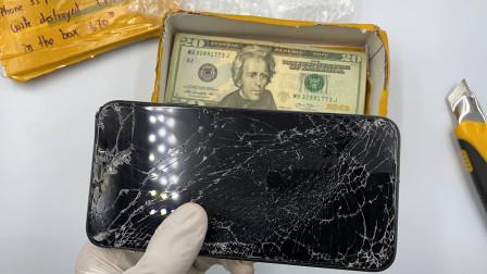 老外意外收到一台破旧的iPhone11,将其翻新后,简直赚大发了!