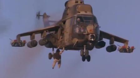 第一滴血3:不愧是特种兵王,冲进敌人的军营,开敌人的飞机逃跑